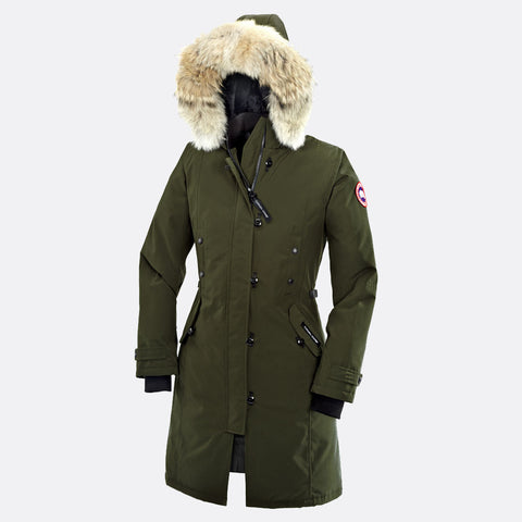 Canada Goose Ladies Kensington Parka L / Military Green