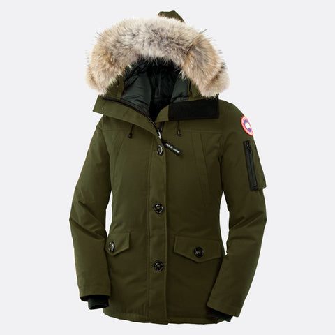 Canada Goose Ladies Montebello Parka XS / Military Green