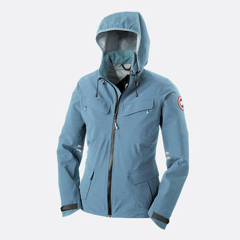 Canada Goose Ladies Moraine Shell Jacket S / Ocean