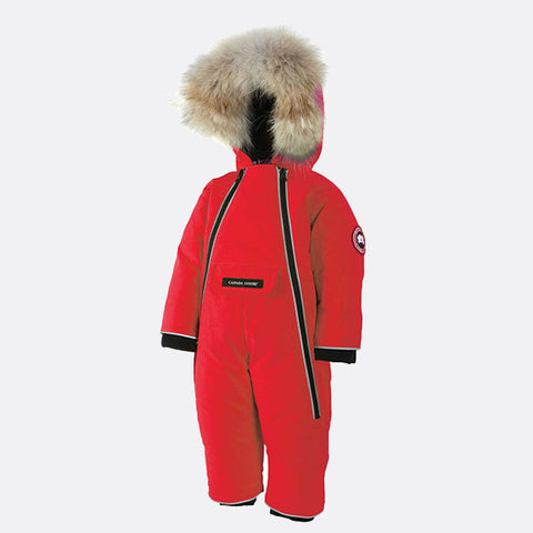 Canada Goose Baby Lamb Snowsuit XS (3-6 months) / Red