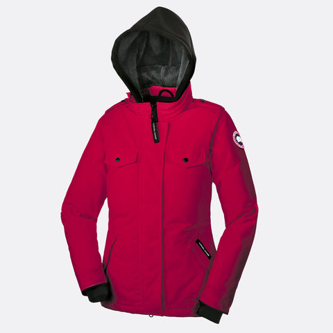 Canada Goose Ladies Burnett Jacket S / Red