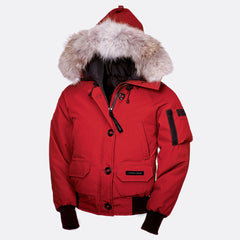 Canada Goose Ladies Chilliwack Bomber XS / Red