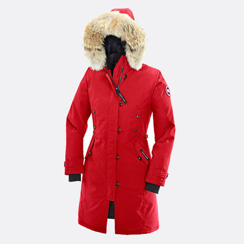 Canada Goose Ladies Kensington Parka L / Red