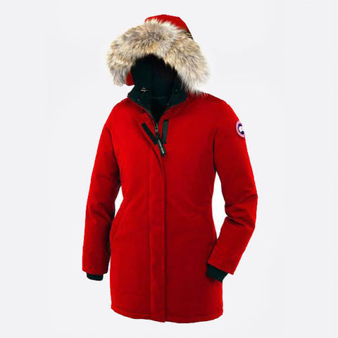 Canada Goose Ladies Victoria Parka L / Red