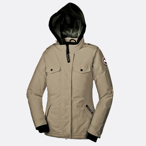 Canada Goose Ladies Burnett Jacket S / Wasaga Sand