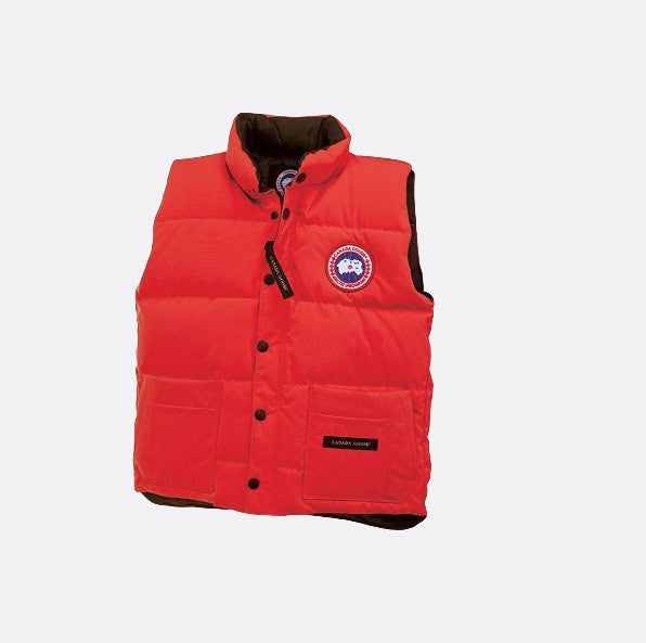 Canada Goose Youth Freestyle Vest red