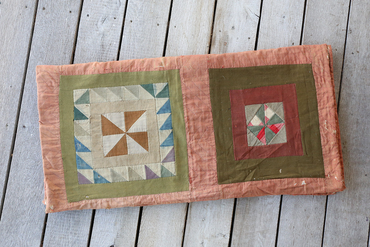 Antique Linseywoolsy Quilt