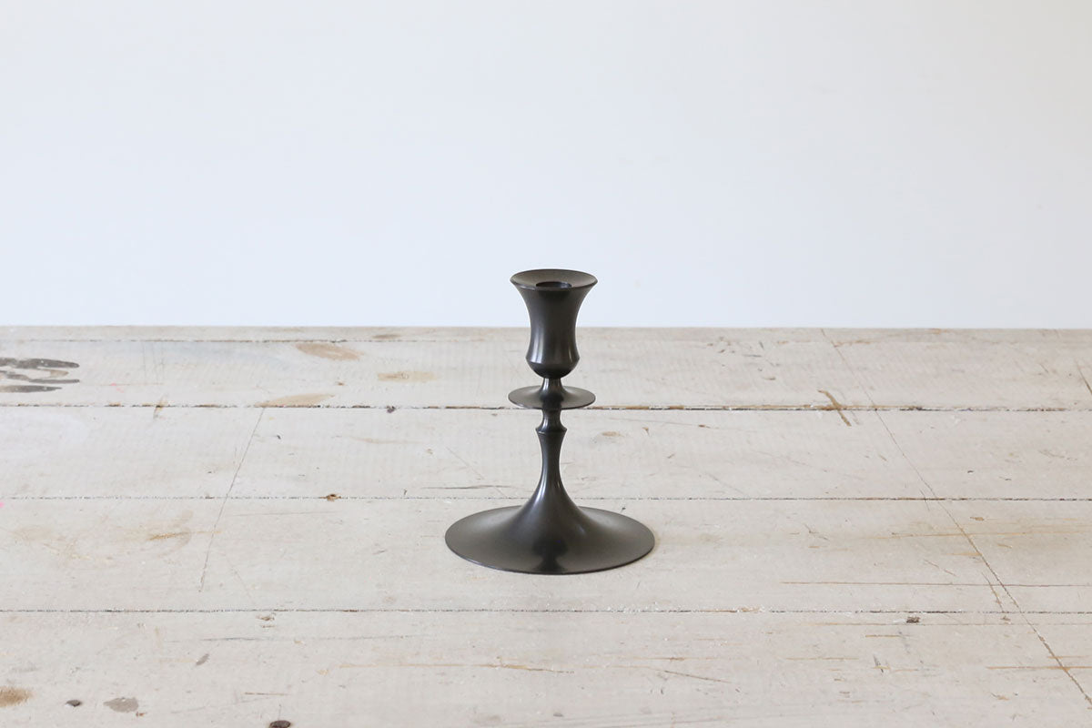 Oxidized Bronze Candlestick No. 0202