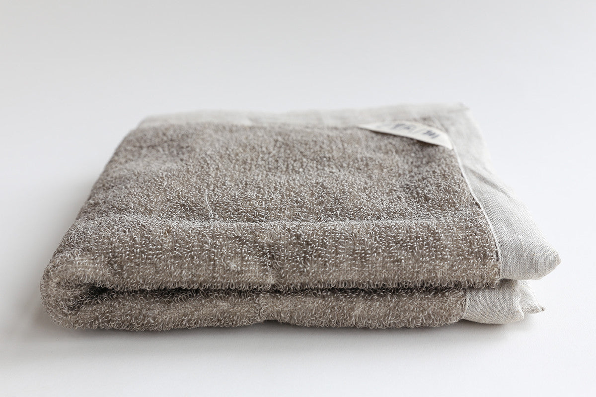 Natural Linen Bath Mat