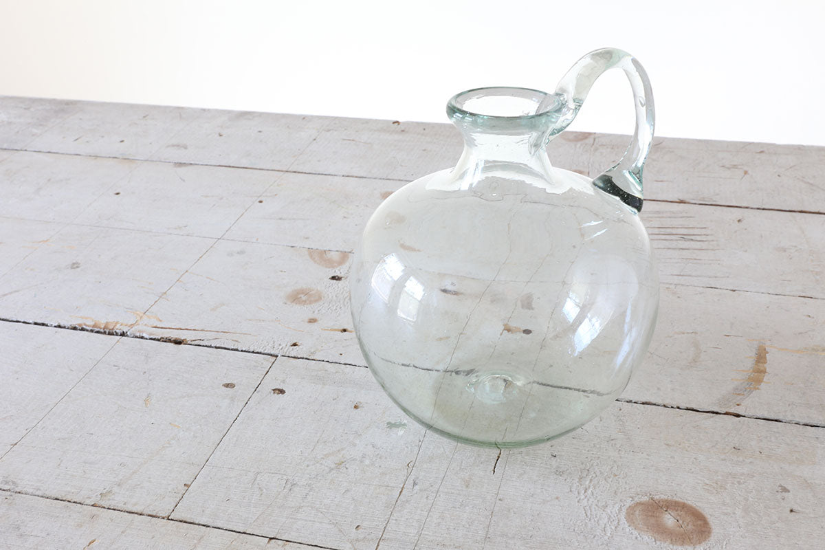 Round Glass Jug
