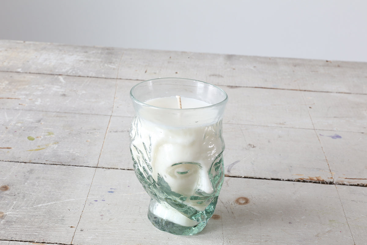 Glass Head Candle