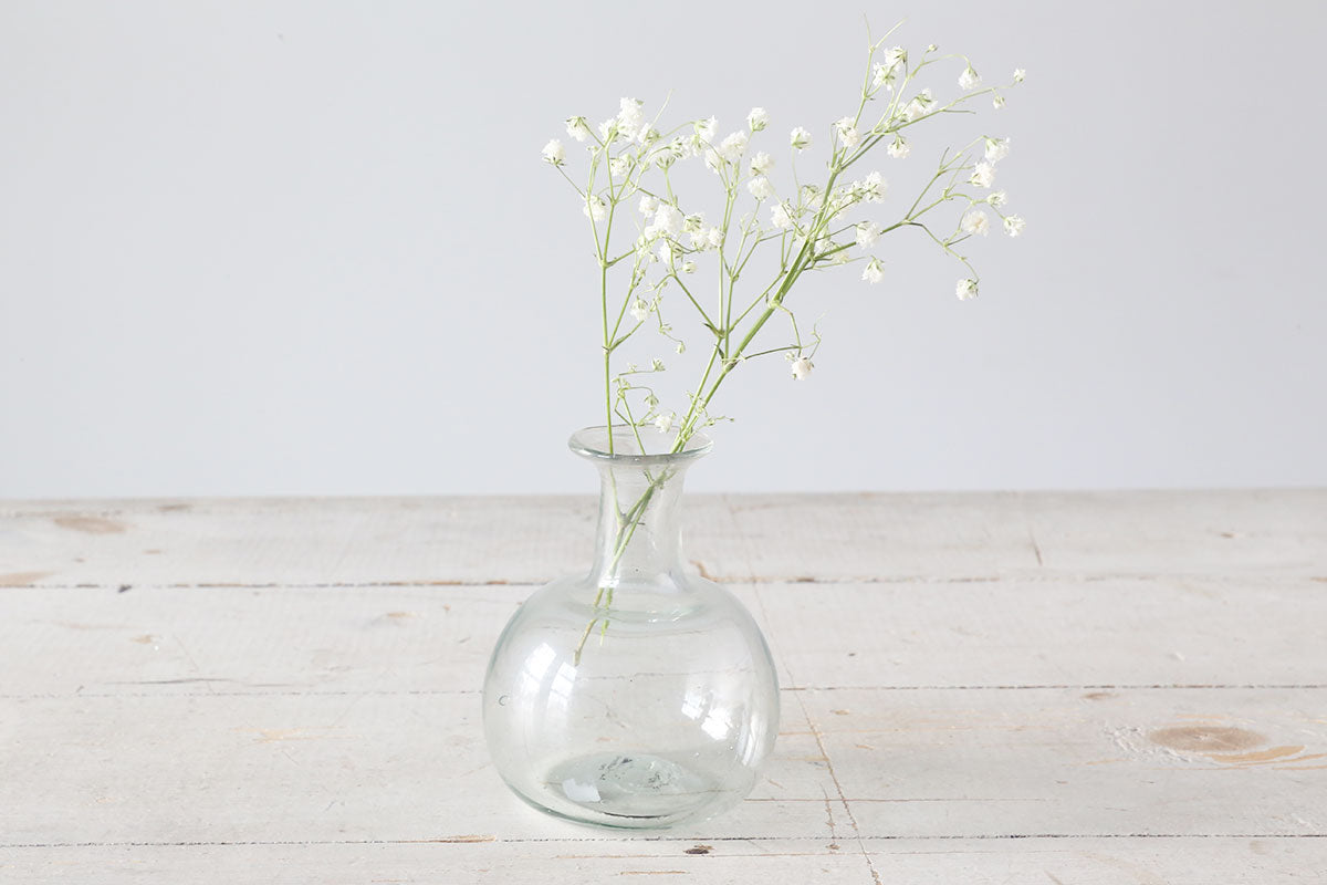 Clear Piccolo Vase