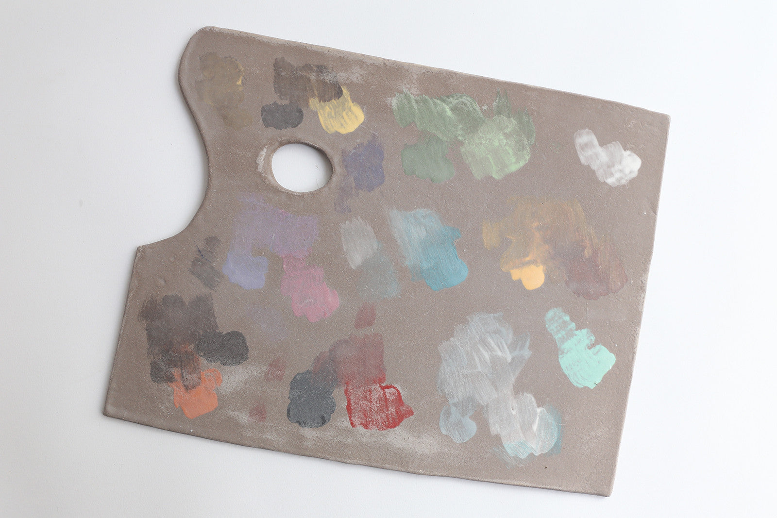 Ceramic Painted Palette