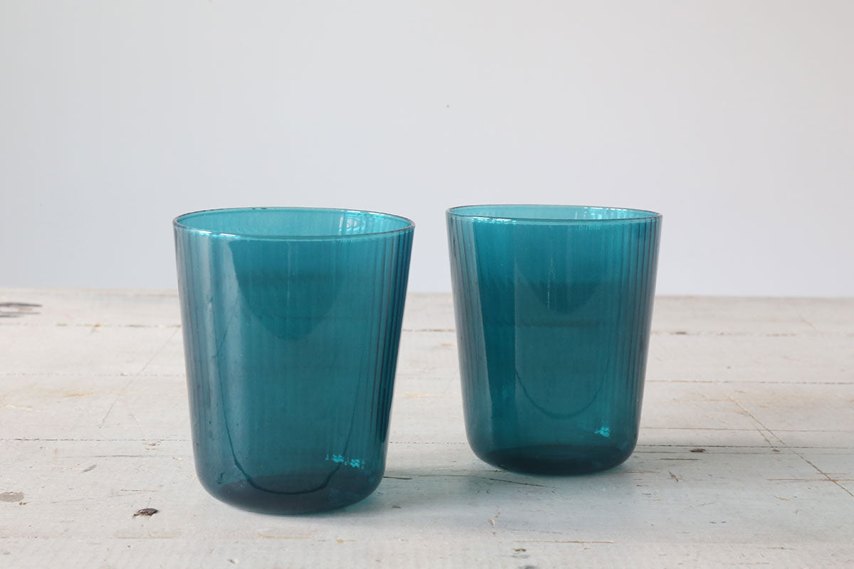 Blue Luisa Tinto Acqua Glasses
