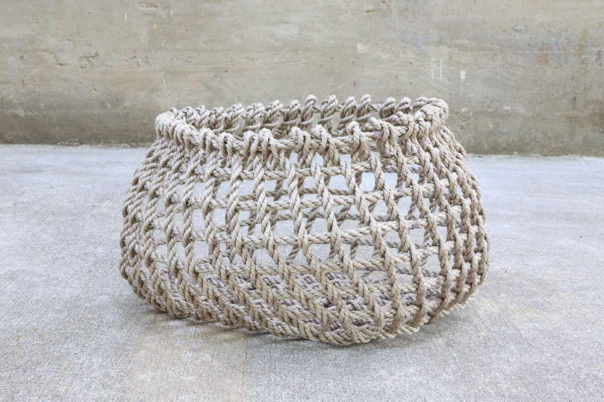 Natural Handwoven Short Basket