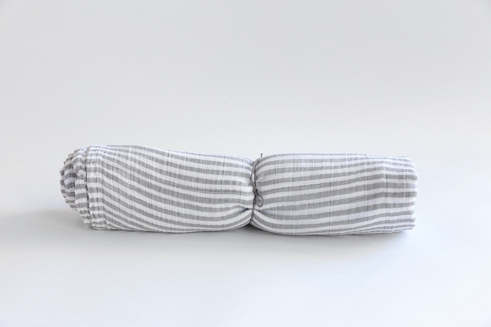 Grey Stripe Swaddle Blanket