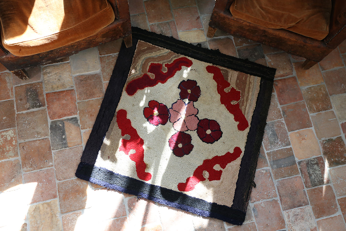 Antique Rose Rug