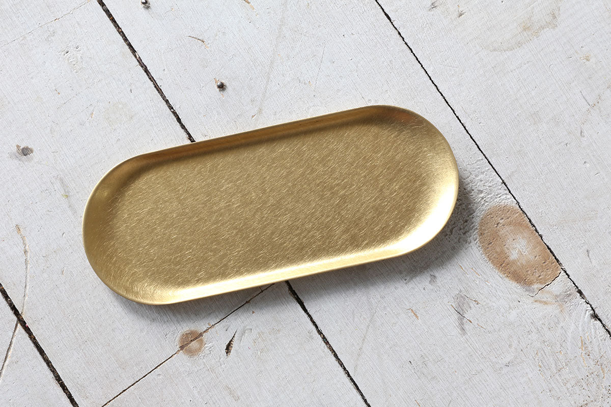 Gold Brass Tray