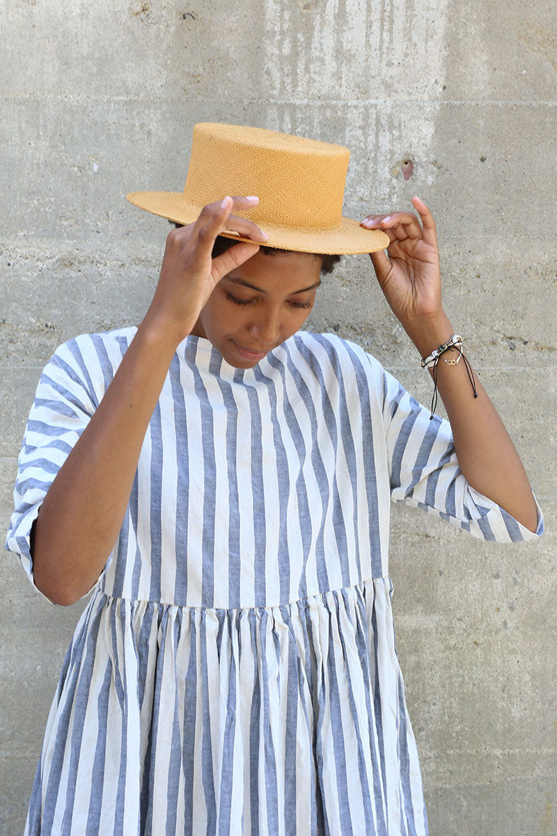 Straw Picnic Hat