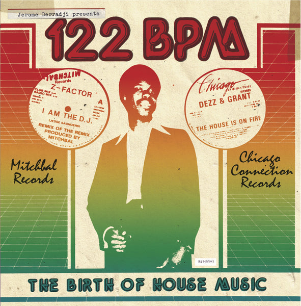 Jerome Derradji presents 122 BPM - The Birth Of House Music 3CD
