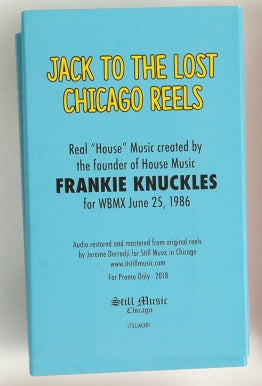 J/A/C/K #1 FRANKIE KNUCKLES - SOLD OUT