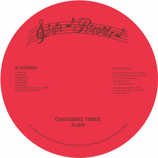 "Alien - Changing Times 12"" - SOLD OUT"