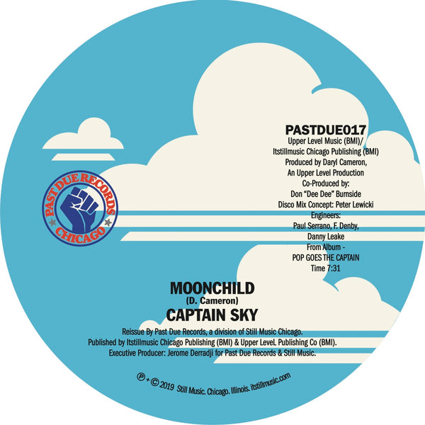 "Captain Sky - Moonchild 12"" (IN STOCK!)"