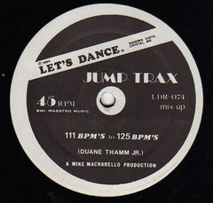 "Duane Thamm Jr. - Jump Trax   12"" (Let's Dance Records)"