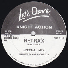 "Knight  Action - R_Trax   12"" (Let's Dance Records)"