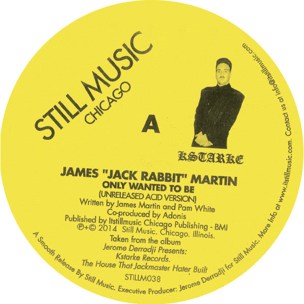 "James ""Jack Martin"" Rabbit - There Are Dreams And There Is Acid 12"""
