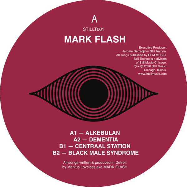 Mark Flash - ALKEBULAN 12""