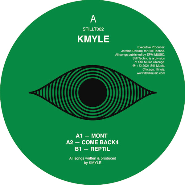 "Kmyle - Come Back 12"" (Limited to 300 Copies)"
