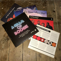 A Gram Of Boogie - The Story of Lee Moore - Score Records & LM Records Memphis, 1979-89 (5LP Box or 3 CD Box) IN STOCK!