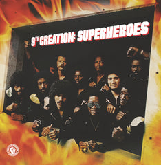 9th Creation - Superheroes LP / CD