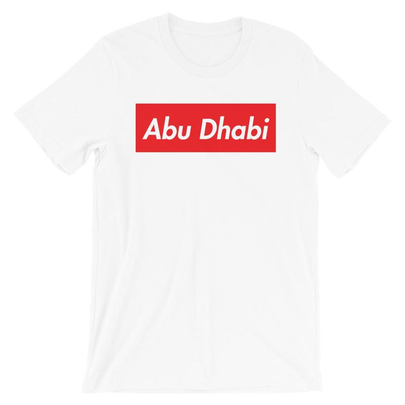 Repparel Abu Dhabi White / XS Hypebeast Streetwear Eco-Friendly Full Cotton T-Shirt