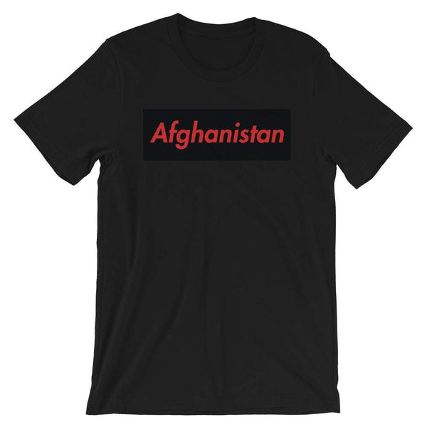 Repparel Afghanistan Black / XS Hypebeast Streetwear Eco-Friendly Full Cotton T-Shirt
