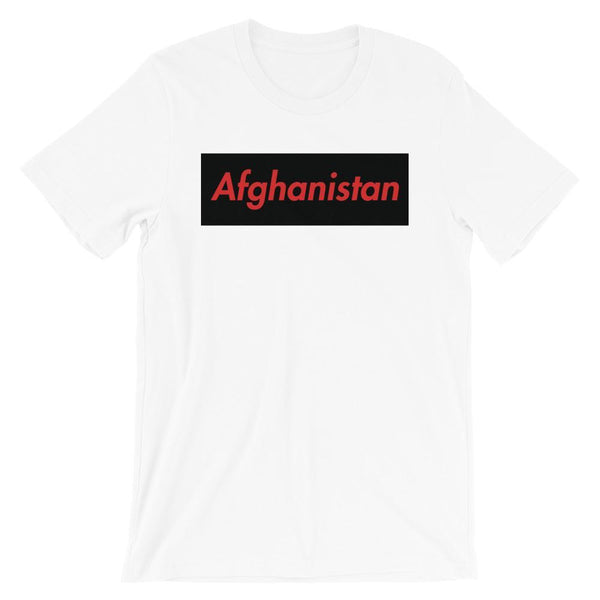 Repparel Afghanistan White / XS Hypebeast Streetwear Eco-Friendly Full Cotton T-Shirt