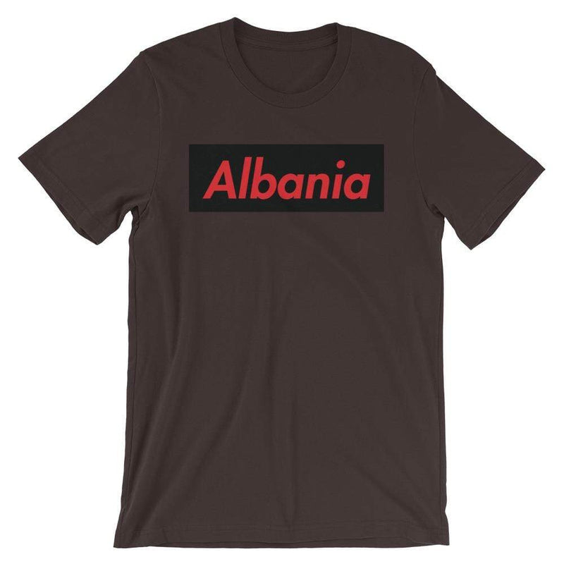 Repparel Albania Brown / S Hypebeast Streetwear Eco-Friendly Full Cotton T-Shirt
