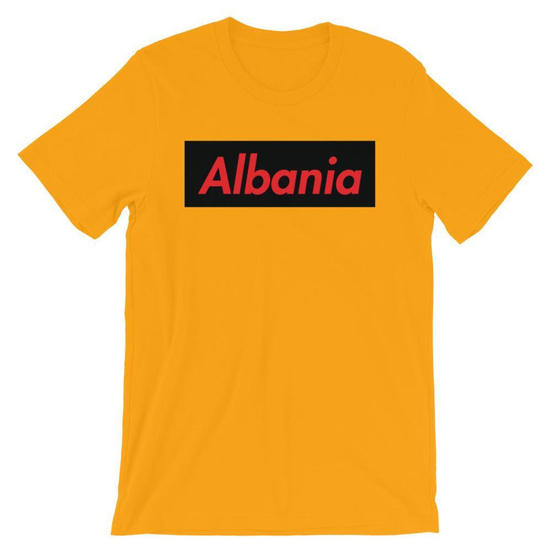 Repparel Albania Gold / S Hypebeast Streetwear Eco-Friendly Full Cotton T-Shirt