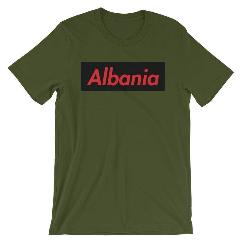 Repparel Albania Olive / S Hypebeast Streetwear Eco-Friendly Full Cotton T-Shirt