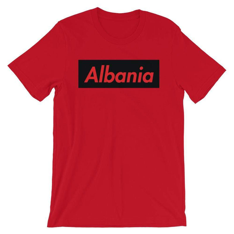 Repparel Albania Red / S Hypebeast Streetwear Eco-Friendly Full Cotton T-Shirt