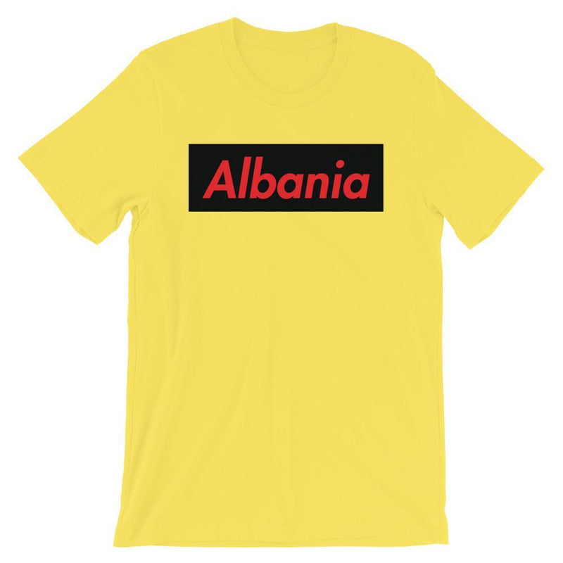 Repparel Albania Yellow / S Hypebeast Streetwear Eco-Friendly Full Cotton T-Shirt