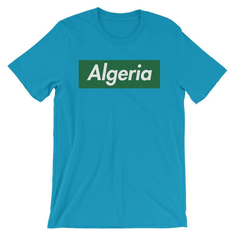Repparel Algeria Aqua / S Hypebeast Streetwear Eco-Friendly Full Cotton T-Shirt
