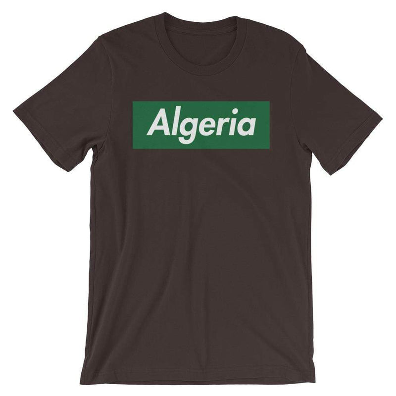 Repparel Algeria Brown / S Hypebeast Streetwear Eco-Friendly Full Cotton T-Shirt