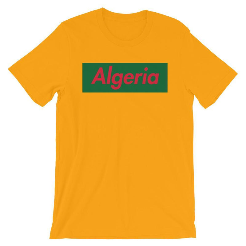 Repparel Algeria Gold / S Hypebeast Streetwear Eco-Friendly Full Cotton T-Shirt