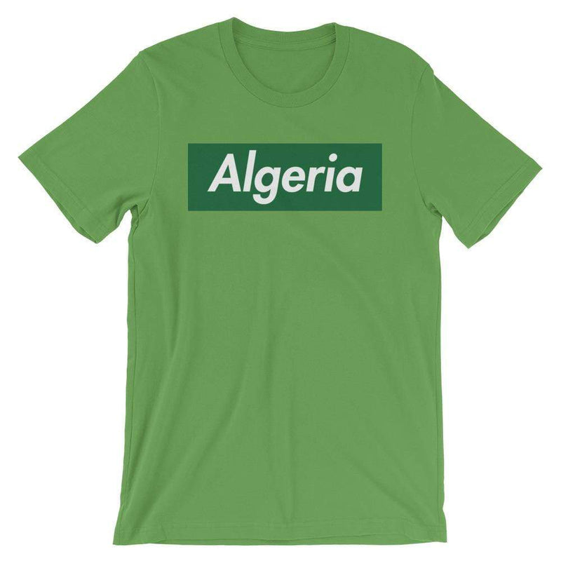 Repparel Algeria Leaf / S Hypebeast Streetwear Eco-Friendly Full Cotton T-Shirt