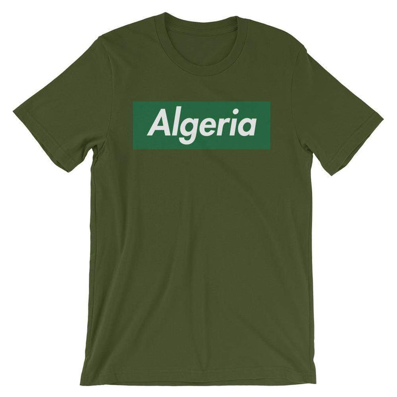 Repparel Algeria Olive / S Hypebeast Streetwear Eco-Friendly Full Cotton T-Shirt