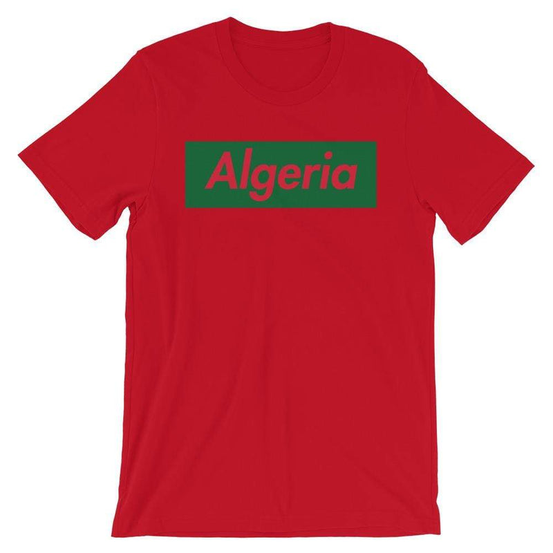 Repparel Algeria Red / S Hypebeast Streetwear Eco-Friendly Full Cotton T-Shirt