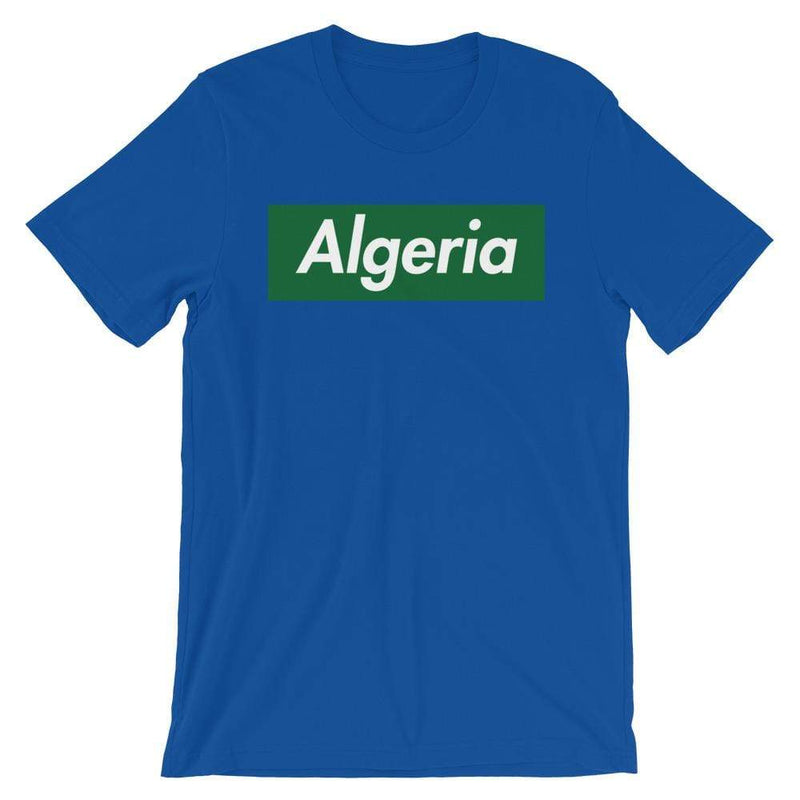 Repparel Algeria True Royal / S Hypebeast Streetwear Eco-Friendly Full Cotton T-Shirt