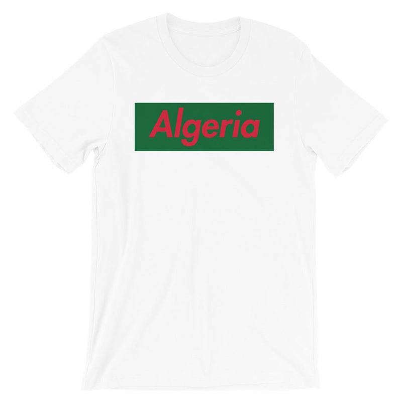 Repparel Algeria White / XS Hypebeast Streetwear Eco-Friendly Full Cotton T-Shirt